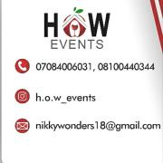 H.O.W Events Logo