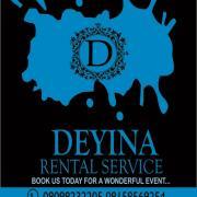 Deyina Rental n Events Logo