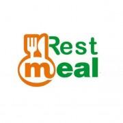 Restmeal online food serv Logo