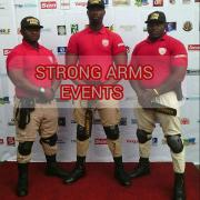 STRONG ARMS EVENTS Logo