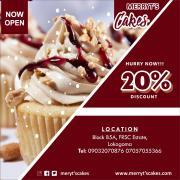 Merryt's cakes n treats Logo