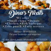 Dina's treats Logo