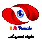 a.m.visuals Logo