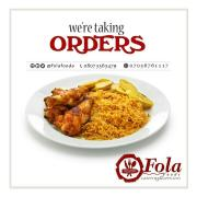 Folafoods catering and se Logo