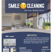 SMILE 😊 CLEANING Logo