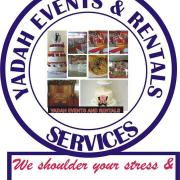 Yadah events and rentals Logo