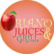 Oriano Juices and Grill Logo