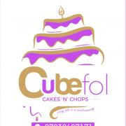 Cubefol Cakes N Chops Logo